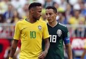 جام جهانی 2018| هافبک مکزیک بعد از حذف برزیل زخم زبان نیمار را تلافی کرد + عکس