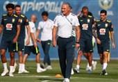 ورود تیم ملى فوتبال برزیل به ریاض