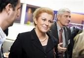 جام جهانی 2018|ورود رئیس جمهور کرواسی به سوچی با هواپیمای حامل هواداران