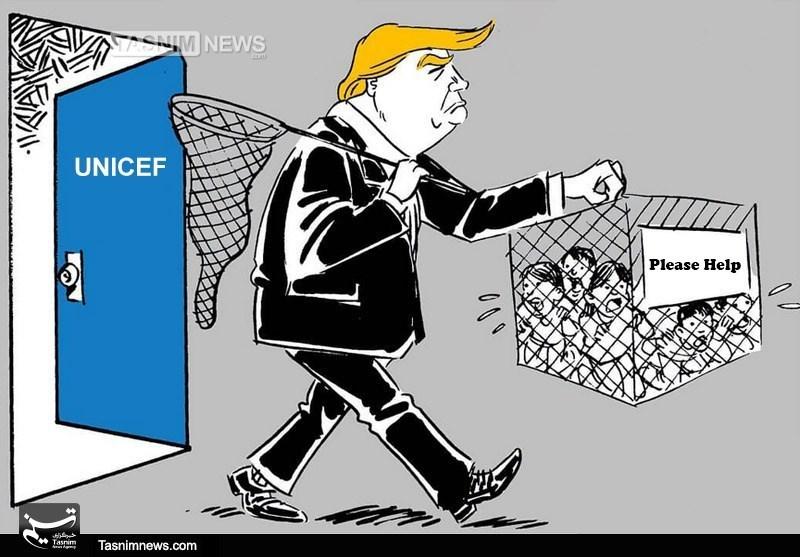 Trump Separating Innocent Children from Parents