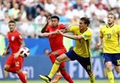 جام جهانی 2018| جدال انگلیس و سوئد به روایت تصویر