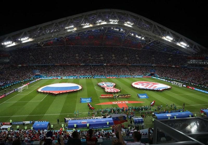 عکس: برتری کرواسی مقابل روسیه