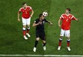 جام جهانی 2018| برتری کرواسی مقابل روسیه به روایت تصویر