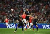 جام جهانی 2018|تساوی یک نیمهای کرواسی و روسیه