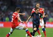جام جهانی 2018| مودریچ؛ بهترین بازیکن دیدار کرواسی - روسیه