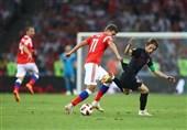 جام جهانی 2018| کرواسی با شکست روسیه حریف انگلیس در نیمه نهایی شد/ میزبان قصد وداع نداشت