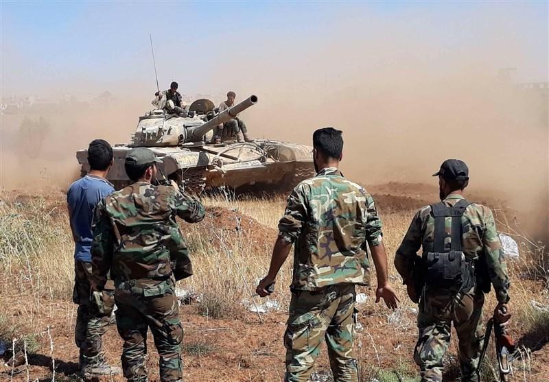 تحولات سوریه|فروپاشی صفوف گروههای تروریستی و پیشروی سریع ارتش در جنوب