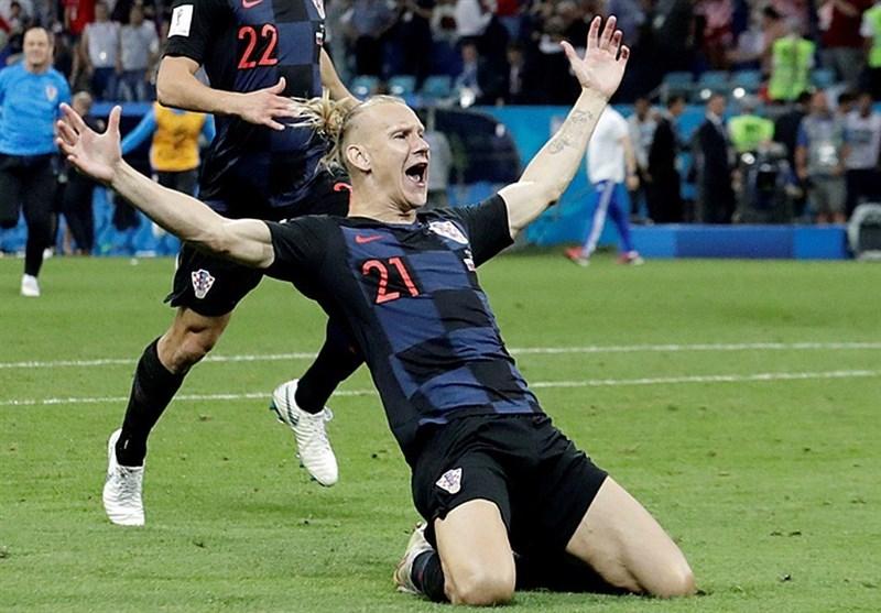 جام جهانی 2018| احتمال محرومیت مدافع کرواسی در بازی با انگلیس به دلیل شعار سیاسی