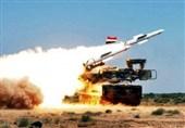 الدفاعات الجویة السوریة تتصدى لعدوان اسرائیلی على التیفور