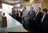 بازدید استاندار مازندران از منطقه ویژه اقتصادی امیرآباد + تصاویر