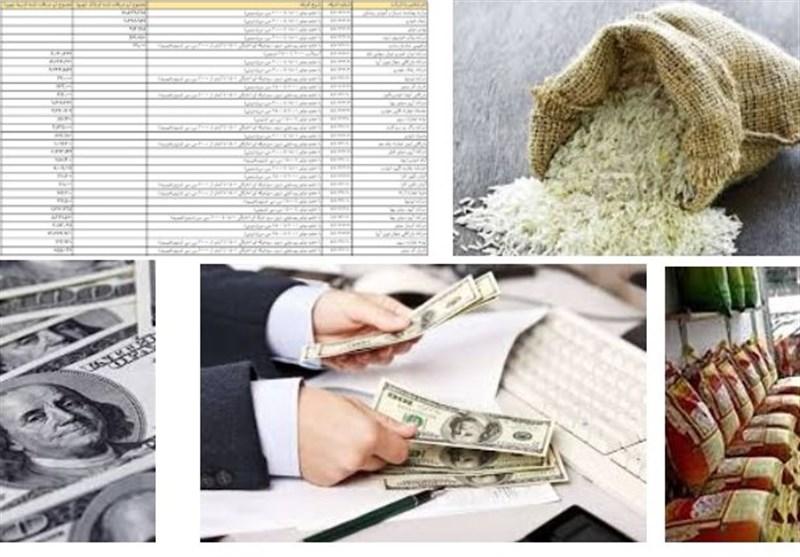 ترخیص 375 میلیون دلار برنج طی 3 ماه/ ابهام در ریخت و پاش ارزی برای واردکنندگان برنج + جداول