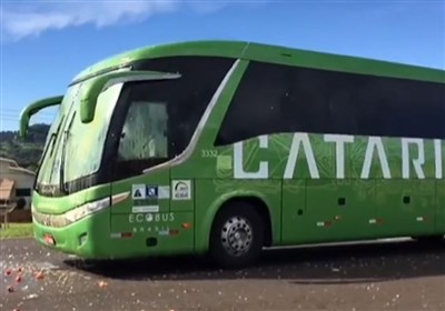 Angry Crowd Welcome Back Brazil Team by Hurling Stones at Bus (+Video)
