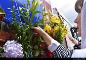 """مراسم تشییع پیکر شهدای تازه تفحص شده """"سربرنیتسا""""+عکس"""