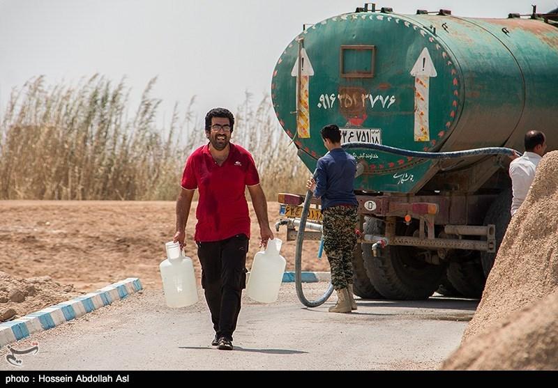 اعزام 11 تانکر آبرسانی به شهر پلدختر؛ تلاش برای رفع 48 ساعته قطعی آب
