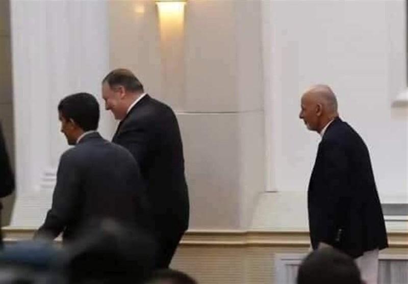 حاشیه دیدار «اشرف غنی» با وزیر خارجه آمریکا؛ آیا مردم افغانستان تحقیر شدهاند؟