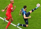 جام جهانی 2018| جدال فرانسه و بلژیک به روایت تصویر