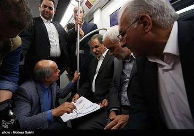 افتتاح فاز سوم خط یک مترو اصفهان