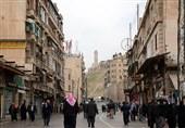 برقراری کامل امنیت در حلب؛ جشن و شادمانی شهروندان سوری