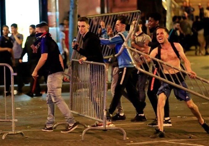 Fans Clash with Police as France Reaches World Cup Semifinal