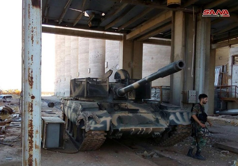 Syrian Government Forces Seize Militants' Western-Made Weapons in Daraa