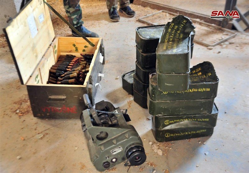 Syrian Government Forces Seize Militants' Western-Made Weapons in Daraa (+Photos)