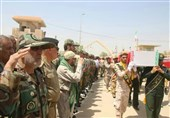 Bodies of 60 Iranian Martyrs Repatriated from Iraq