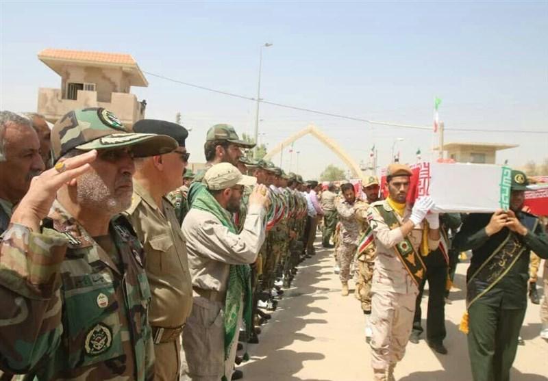 ورود پیکر مطهر 60 شهید دفاع مقدس از مرز خسروی به کشور+عکس و فیلم