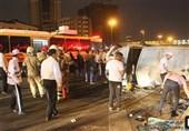 تعداد مصدومان آتش سوزی مسجد جامع ساری به 19 نفر رسید