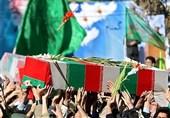 """پیکر مطهر شهید"""" محمد جواهری"""" بعد از نماز جمعه همدان تشییع شد"""