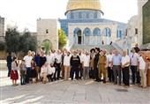 تحولات فلسطین|یورش 142 صهیونیست به مسجدالأقصی