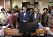 بازدید سردار محمدرضا یزدی از خبرگزاری تسنیم
