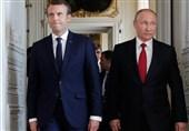 جام جهانی 2018  دیدار پوتین و ماکرون پیش از فینال