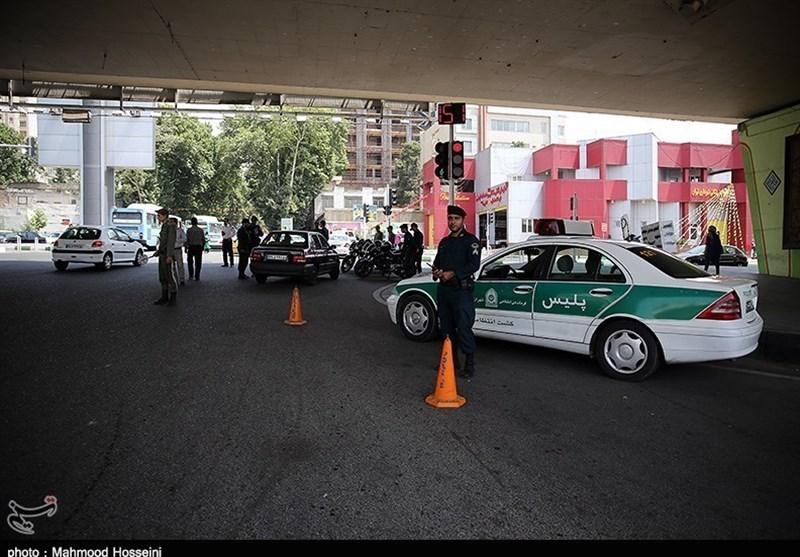 رزمایش پلیس در شهر کرمانشاه برگزار شد؛ تکذیب خبر سرقت از بانک تجارت