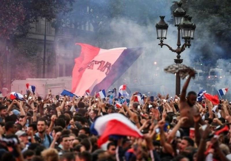 جامجهانی 2018 جشن فینالیست شدن فرانسه 30 مجروح به جا گذاشت