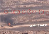 یمن|انهدام خودروی حامل مزدوران سعودی در استان الجوف/ یک پهپاد جاسوسی عربستان سرنگون شد