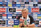 فوتبال جهان| آنچلوتی پس از حذف ناپولی: در سطح مصاف با تیمی مثل میلان نبودیم/ اوضاع ما را بحرانی جلوه ندهید!