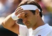 تنیس گرنداسلم ویمبلدون| فدرر حذف شد
