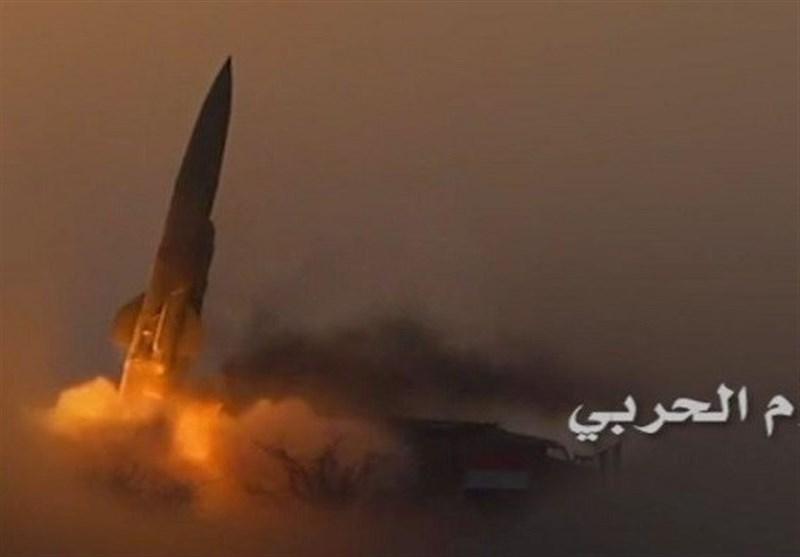 القوة الصاروخیة الیمنیة تطلق صاروخین بالیستیین على مطار جیزان الإقلیمی