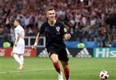 جام جهانی 2018|پریسیچ بهترین بازیکن دیدار کرواسی - انگلیس شد