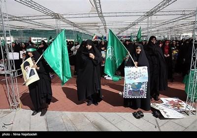 راهپیمایی روز ملی عفاف و حجاب - مشهد