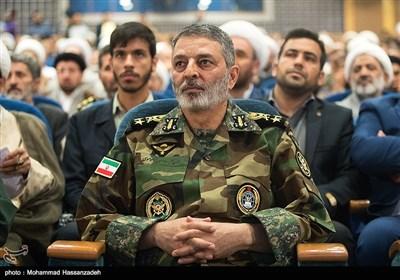 امیر سرلشکر سید عبدالرحیم موسوی فرمانده کل ارتش جمهوری اسلامی ایران