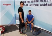 وزنهبرداری قهرمانی جوانان جهان|عنوان چهارمی برای نماینده ایران/ معتمدی در دو ضرب برنز گرفت
