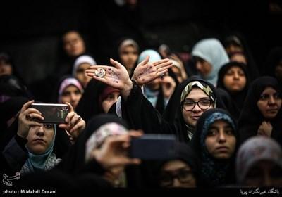 همایش دختران انقلاب در حسینیه شهید همت