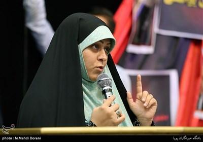 سخنرانی خواهرزاده مسیح علینژاد در همایش دختران انقلاب