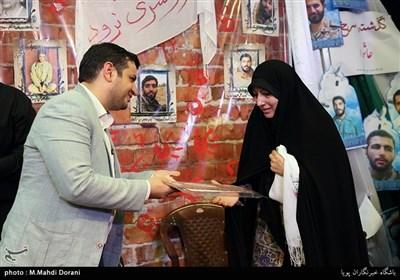 همسر شهید مصطفی احمدی روشن