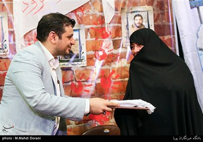 خواهر مسیح علینژاد در همایش دختران انقلاب