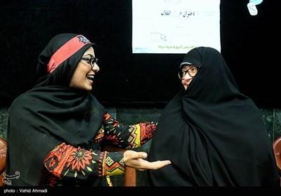 خواهر شهید ابراهیم هادی در همایش دختران انقلاب