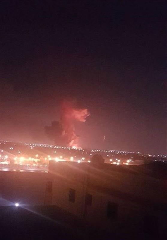 انفجار در نزدیکی فرودگاه قاهره+تصاویر