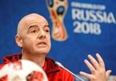 جام جهانی 2018| اینفانتینو: VAR باعث شفافیت بیشتر شده است/ این بهترین جام جهانی تاریخ است
