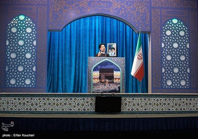سخنرانی حجت الاسلام ابوترابی فرد امام جمعه موقت تهران